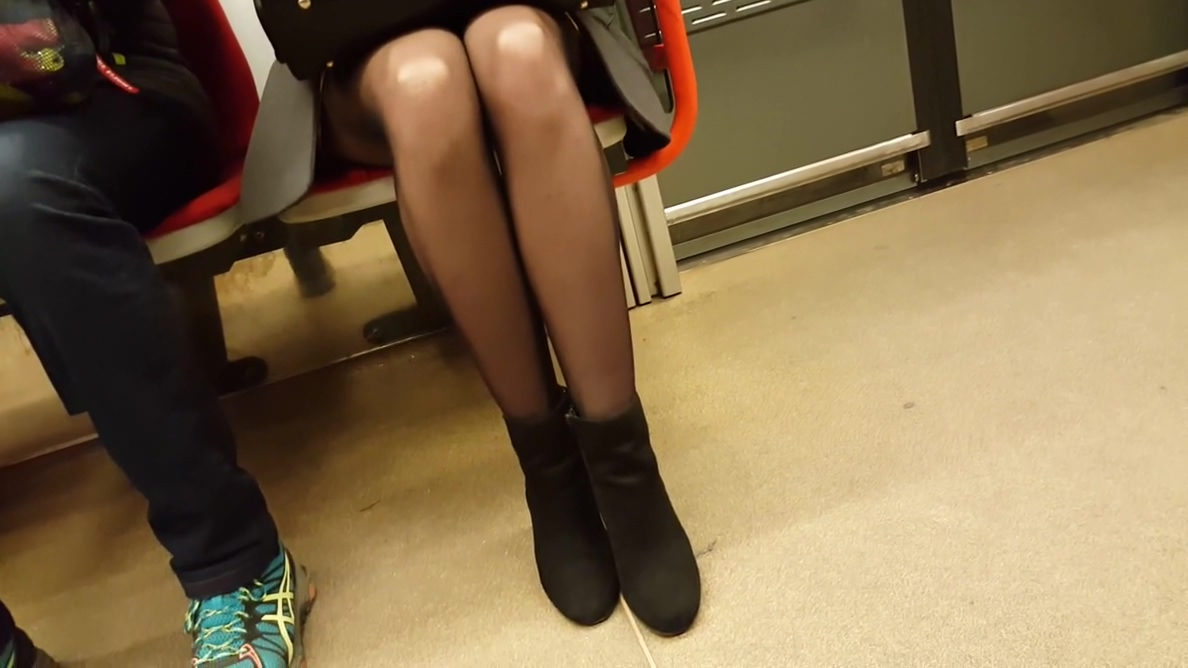 Nice legs in black pantyhose my sexy kittens girls