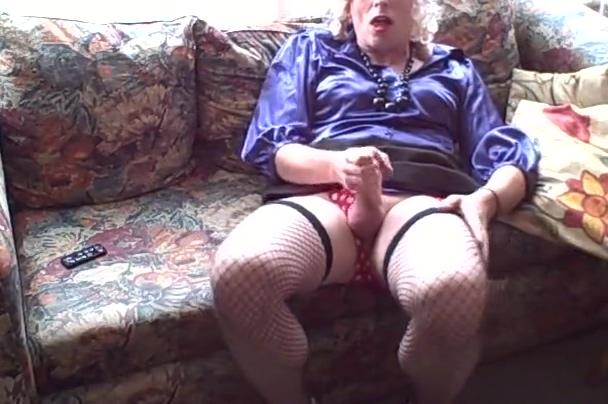 Victoria Hoe Blue Satin Secretary Brazillian sexy ass nude
