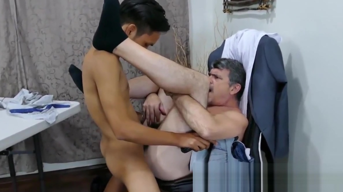 Asian twink and his older boss take turns for bareback sex Speed dating in orange county ny