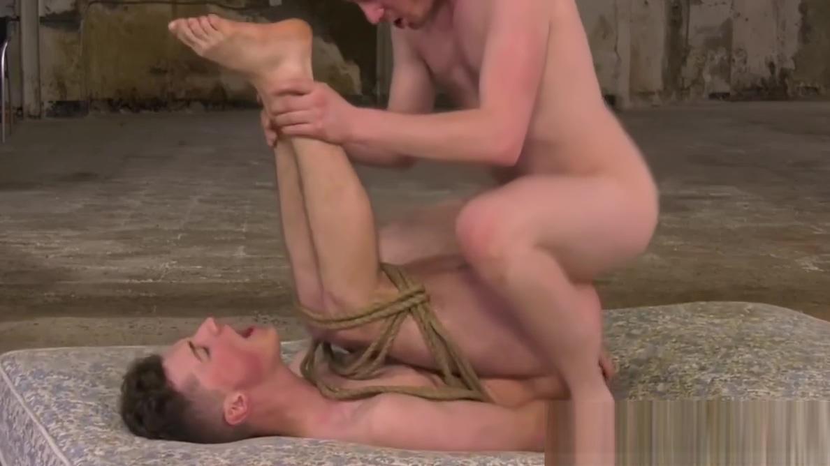 Tied up twink drilled with huge dildo and massive cock porno real mother and sons