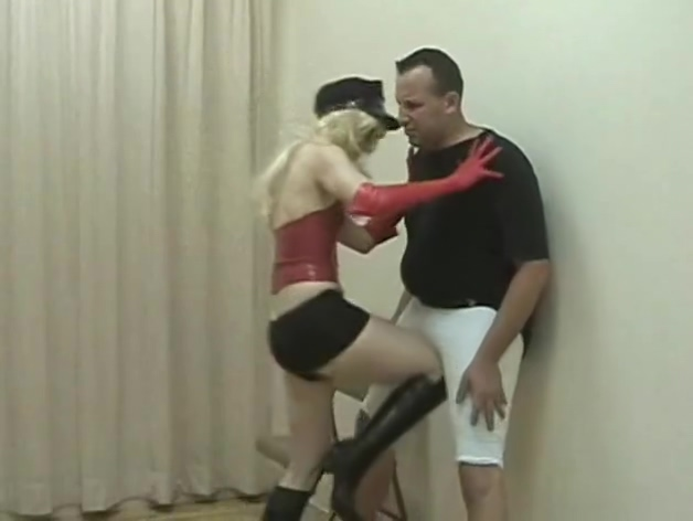 Ballbusting black boots Do girls masturbate to port