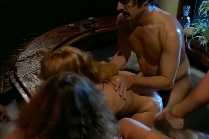 Ginger Vintage Pornstar With Big Boobs Seduces Brutal Man