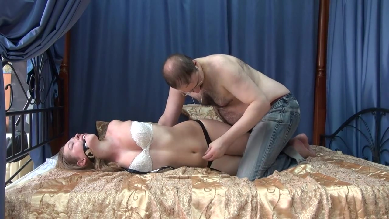 Hogtied Fun_4 Mature Wet Hairy Pussy