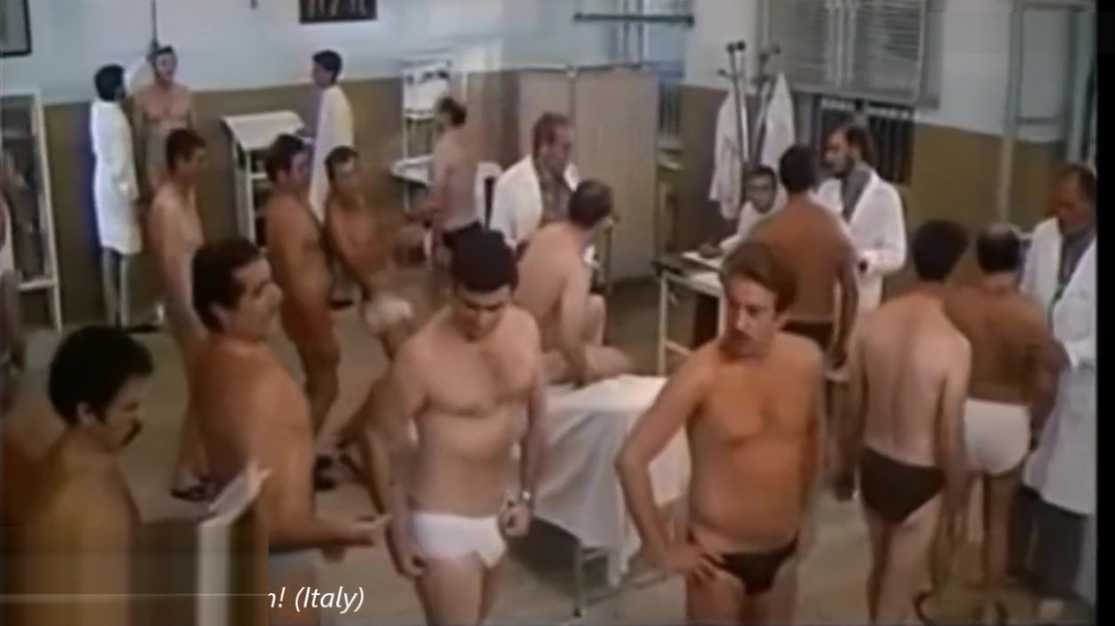 THE 12 BEST ARMY MEDICAL EXAM SCENES IN MAINSTREAM MOVIES Girl with different tits nude