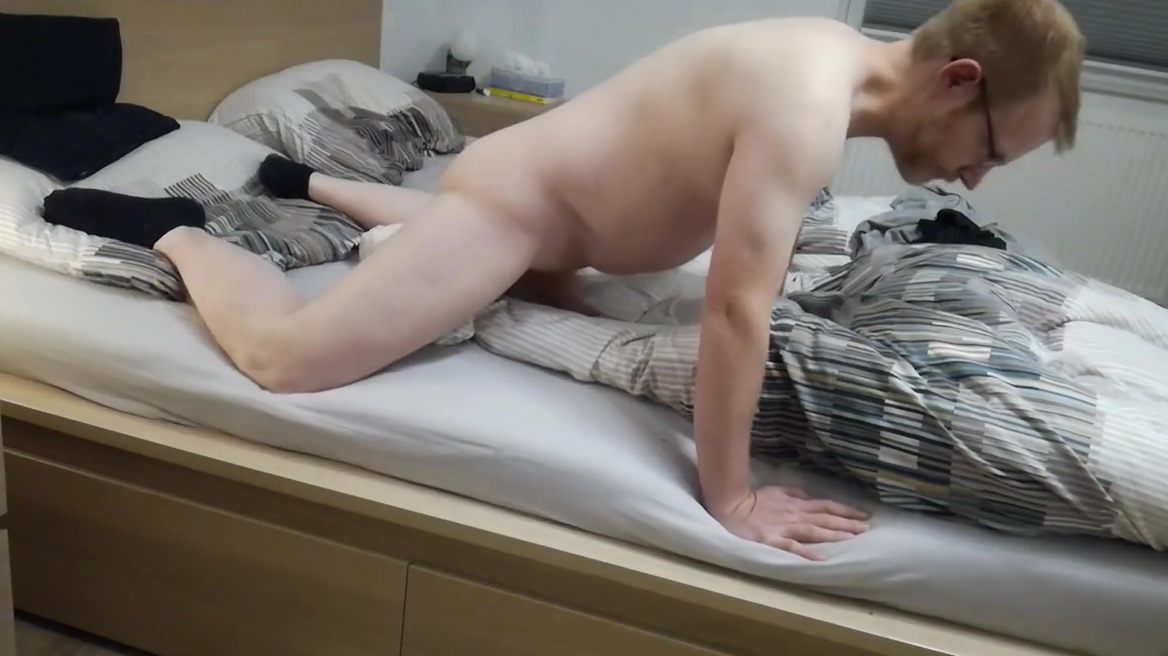 Playing under and with my blanket Girl creams on cock