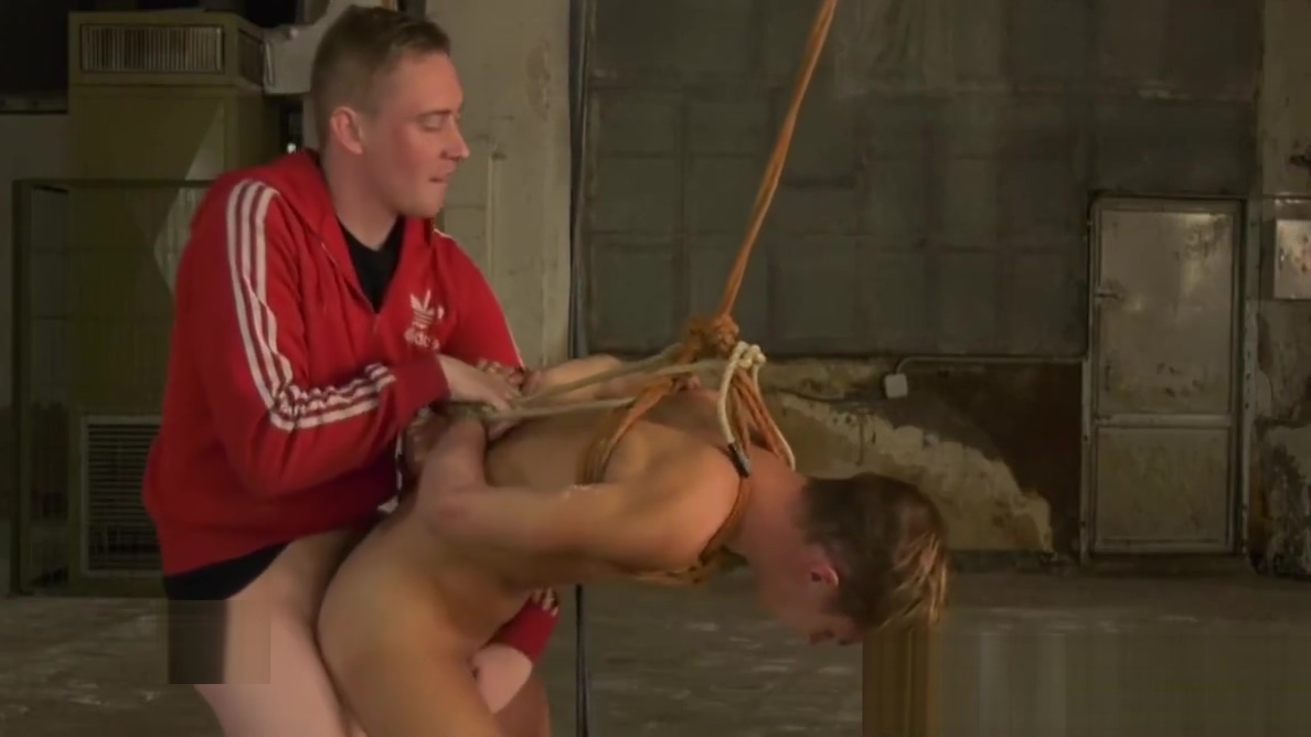 Bounded young sub enjoys a skillful handjob from his master Kenyan woman pussy