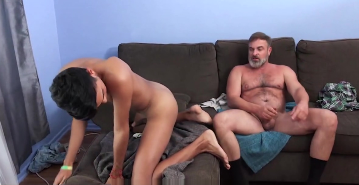 Bear Step Dad Sex With His Latino Foreign Exchange Student girl with big booty