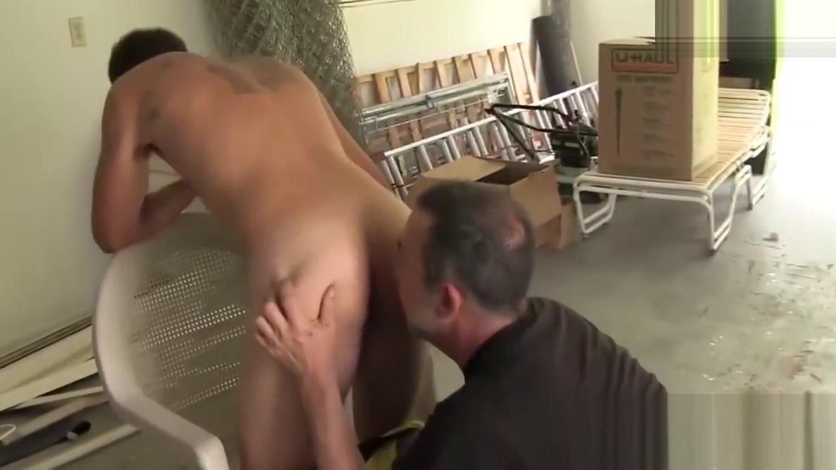 Mature dude ass bangs gay jock and cums on his nasty ass Maria Viston