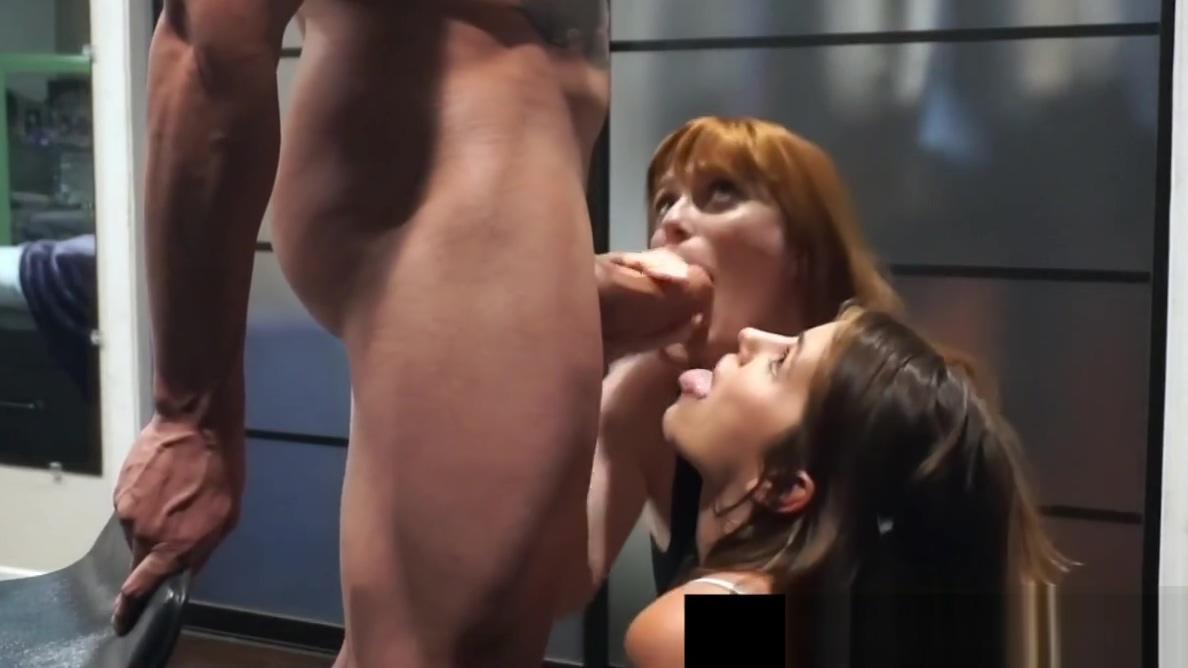 Redhead Penny Pax & Adriana Chechik Get A Slutty Cum Snack! Alia Starr & Sierra Skye bang with Voodoo