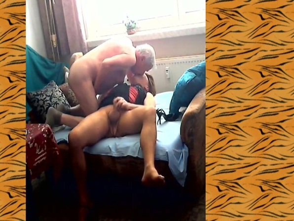 Love-Story with my older Friend Old man big boobs