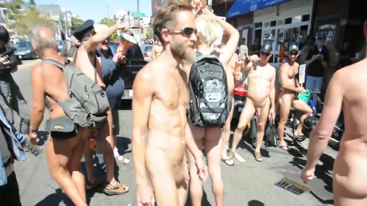 NUDE PROTEST IN THE CASTRO STREET Horny bbw in bikini at pool