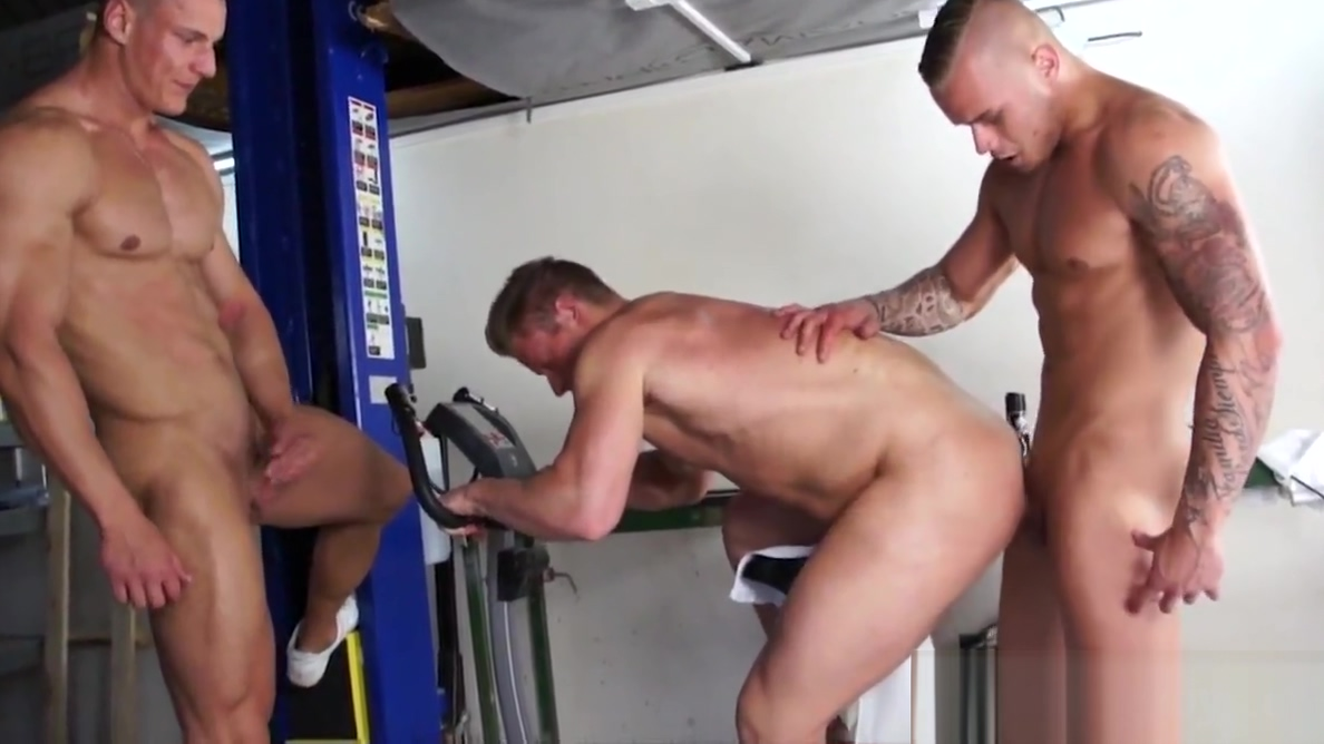 Bodybuilders love anal threesome as a postworkout jennifer connelly nude gif