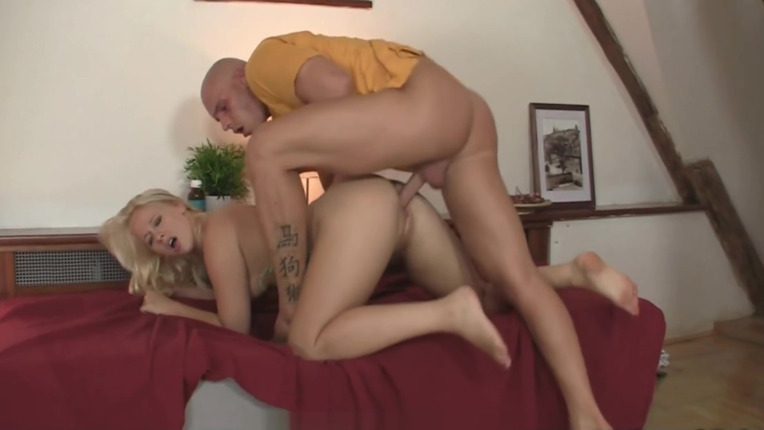 His smart friend fucks his blonde girlfriend
