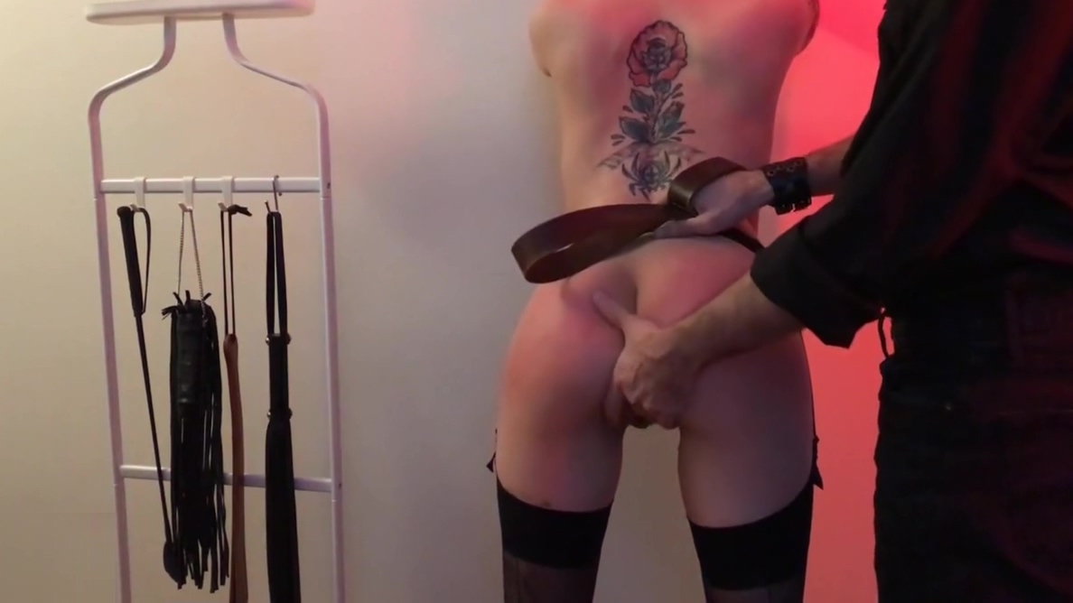 Flogging session double penis to girl photo