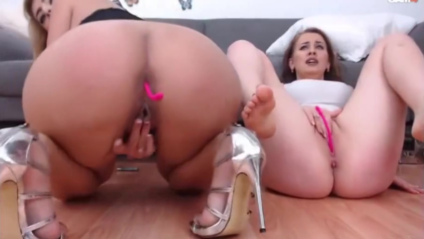 hot lesbian sluts play with their asshole and pussy cum in bloody sisters pussy