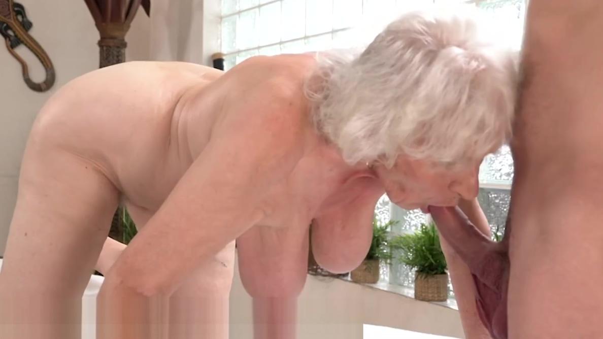LustyGrandmas Old Lady Drilled by Young Stud Masseur brandi m porn vid