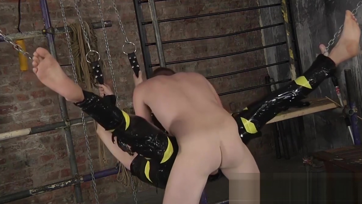 Wrapped up homo slave only has his hole free for drilling Neuken rotterdam