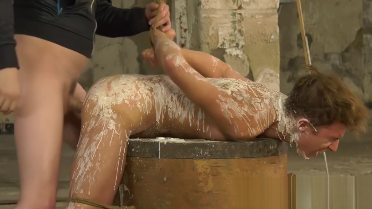 Bound twink receives anal after a candle torment session I prefer amateurs