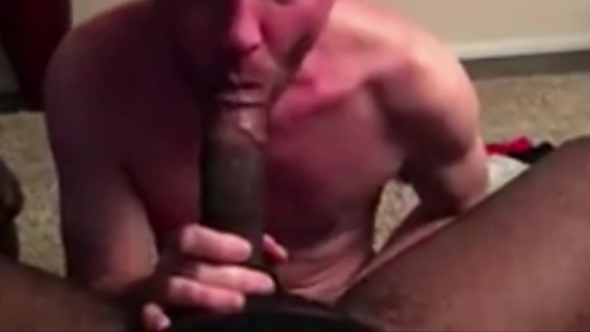 White Men Serving Black Men big ass small tits