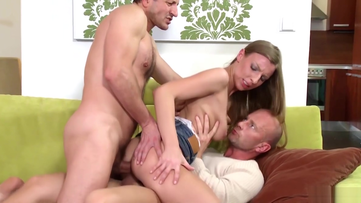 Morgan Moon Harddcore DP Threesome Wife tits and ass bucket
