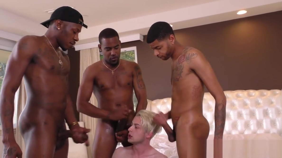 Black guys sharing a white bois ass boss fucking secretary on video