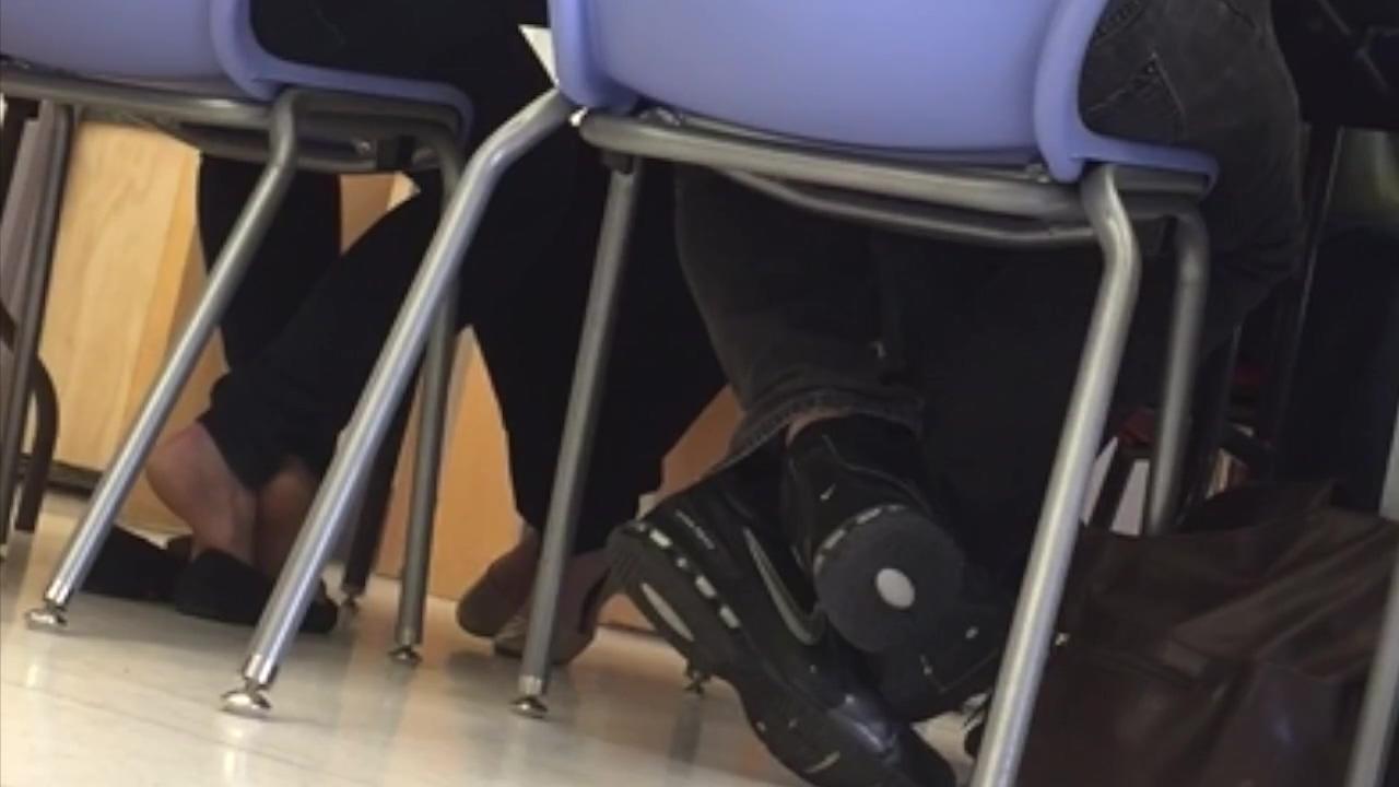 Candid teacher shoeplay Electric dildo orgasm