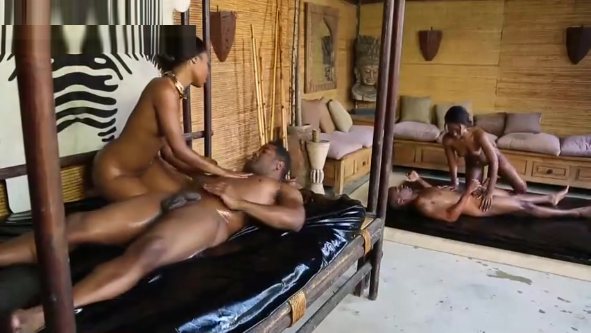 African Prince Massage Sexy see thru panties