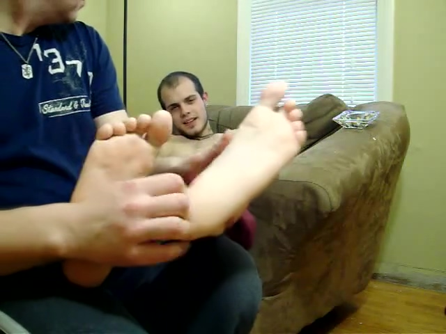 Foot Massage Tickle Big girls lesbian with tiny girl