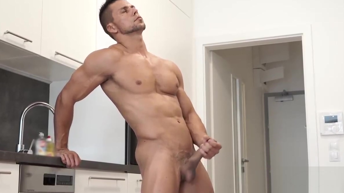 Straight Euro Officer Masturbates 8.5 Inches Of Uncut Cock Kinky bi couples