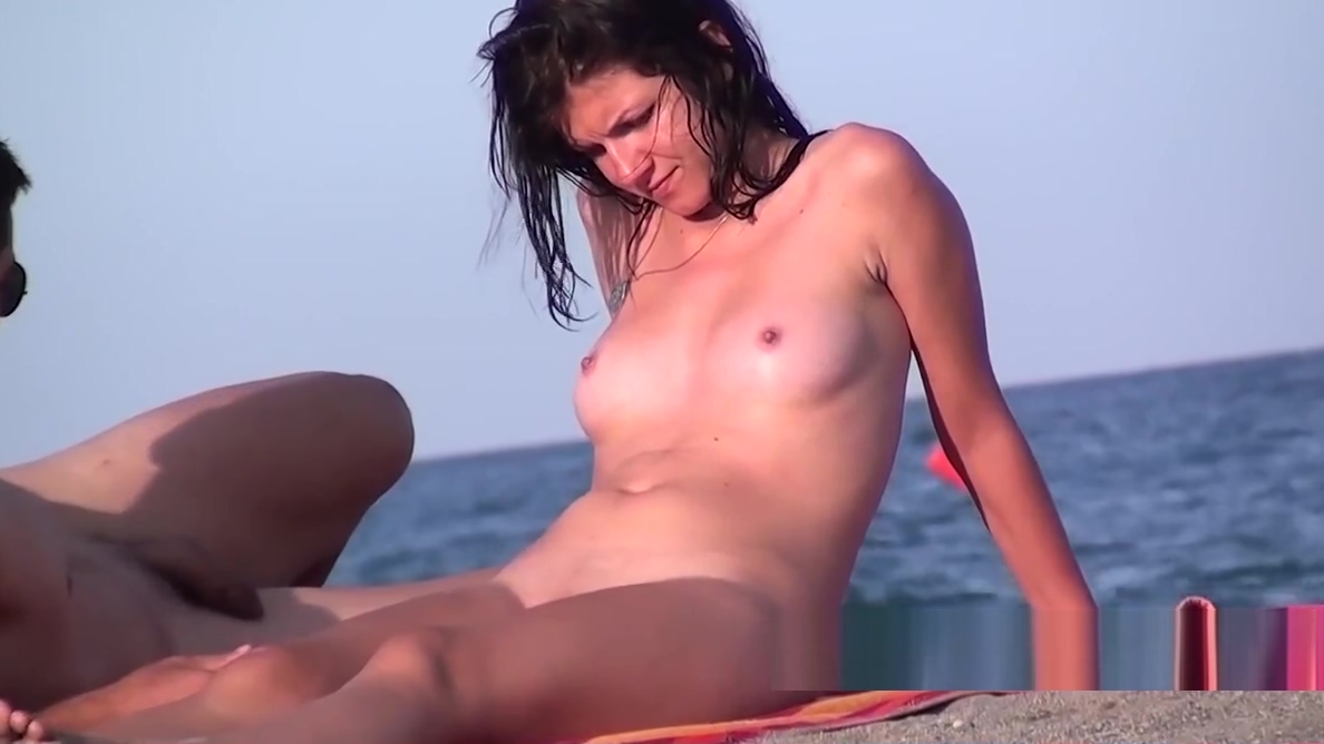 Amazing Body Hot Nudist Naked Milf Beach Voyeur Hidden Spy cum her ass pussy