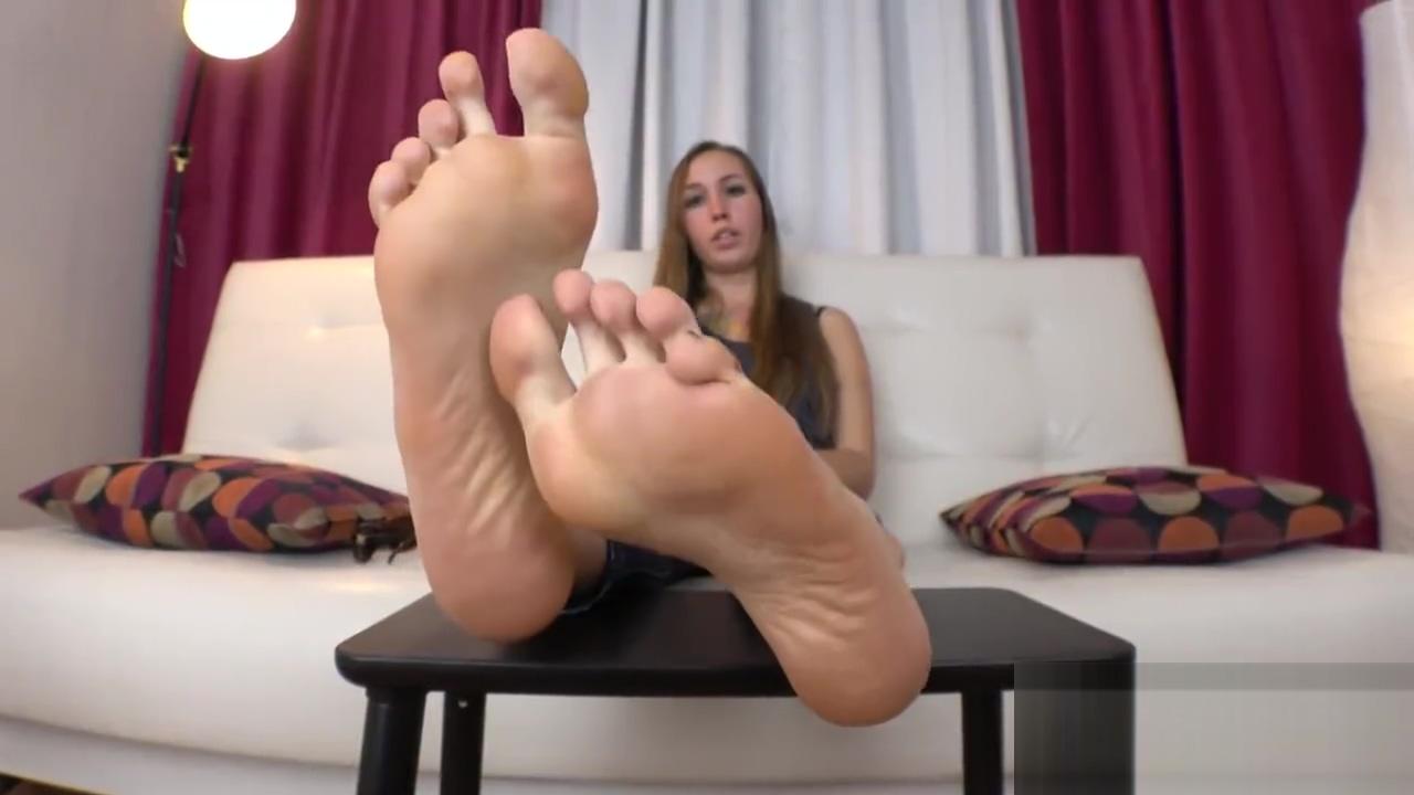 Smelly Foot Tease Slim black women nude