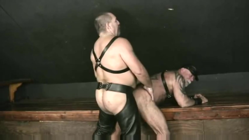 Biker Daddies Having Fun 4 cum in hairy pussy