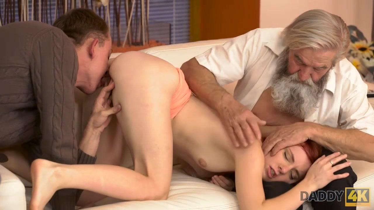 DADDY4K. Adorable Vanessa comes closer to her boyfriend?s bearded dad Nude puerto rican men