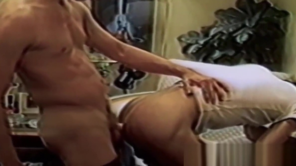 Retro homos butt fuck and jerk each other off with pleasure Red head doggy