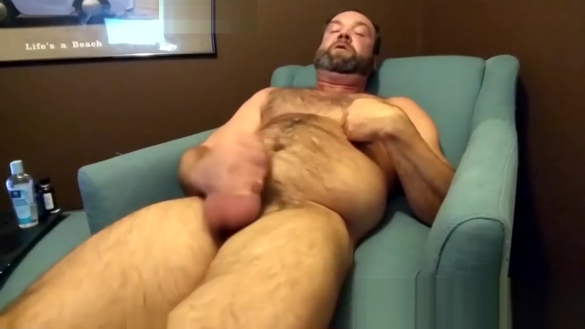 Hairy mature bear plays with his rock solid cock alone Wanting to meet outdoor girl in Hong Kong
