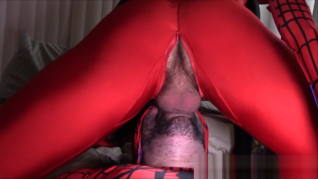 Drowning in Web - a Gay XXX DeadPool Spider-Man Cosplay Parody Avn awards shemale