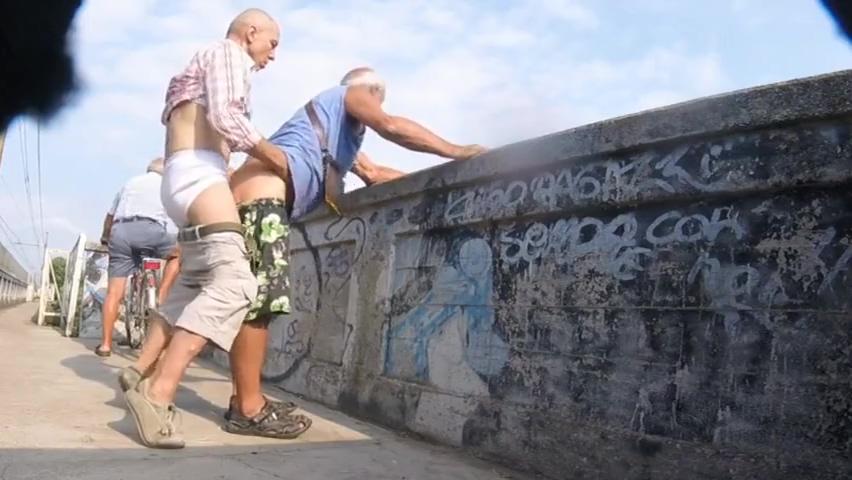cruising...Horny Promenade Creampie Accident Amateur