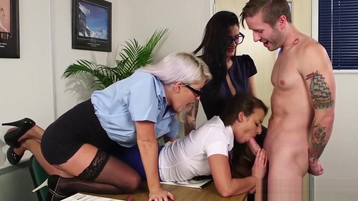 Teenage trio humiliating a naked guy pinkie the pornstar