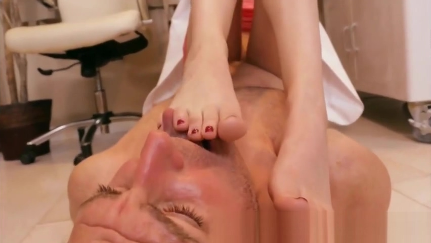 Sexy Footjob porn with men and women