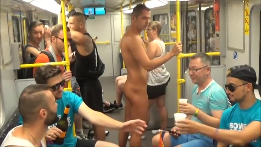 naked guy in the subway of Berlin Dating denver tennis village