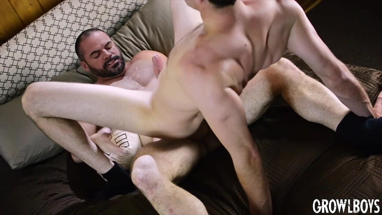 Young man fucked bareback 2x by hairy daddy satyr monster & bred Bizzare lesbian free sex
