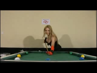 Shemale Solo On Pool Table straight girl and milf