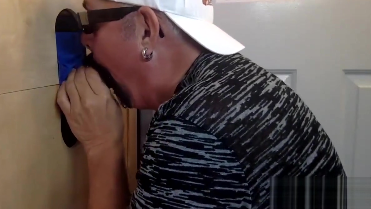 Swallowing Big Black Meat At The Gloryhole Pov tease cum compilation