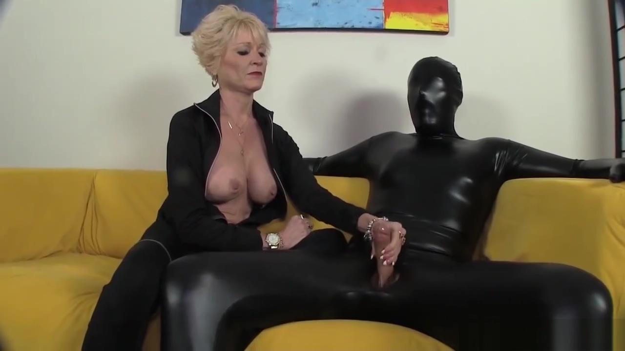 Granny dominates her slave Bbw ass voyer