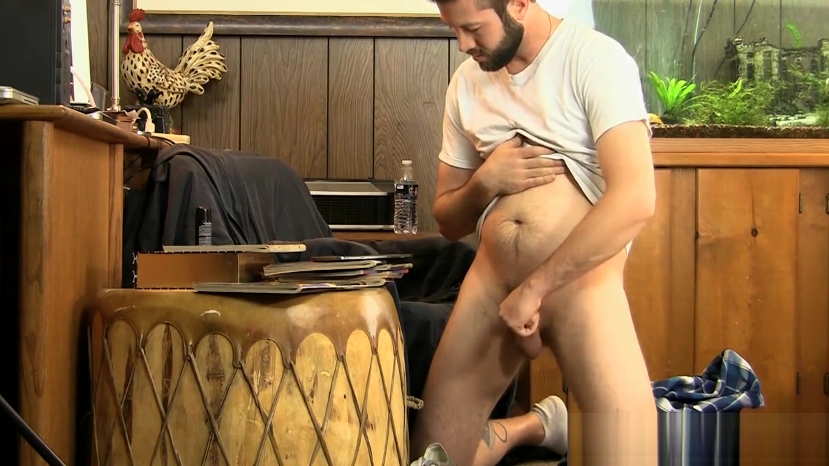 Tattooed redneck Jason watching porn and jacking to it Gay Sex Stories Pics