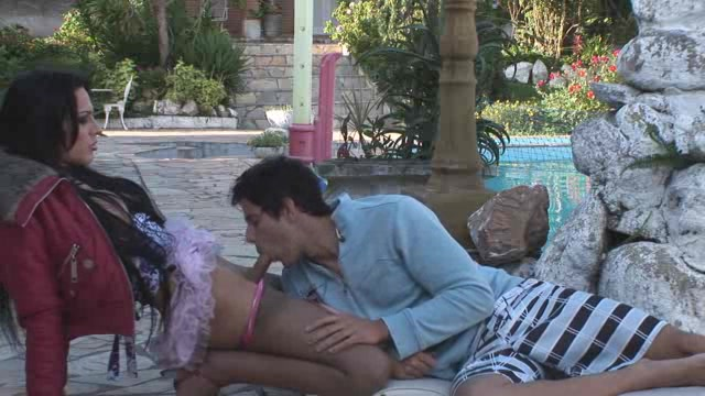 Long haired shemale sucked by her bf outside hairy pussies and asses