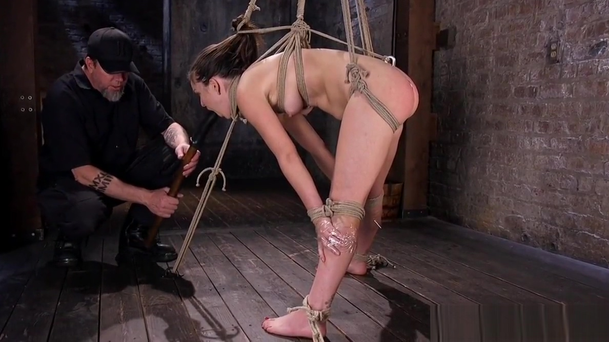 BDSM restrained as maledom pulls pussy hair Who is acacia brinley clark dating