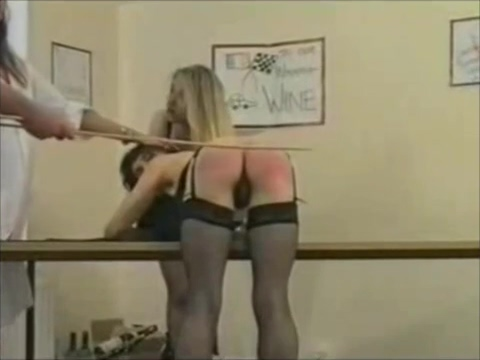 Two assistants get spanked