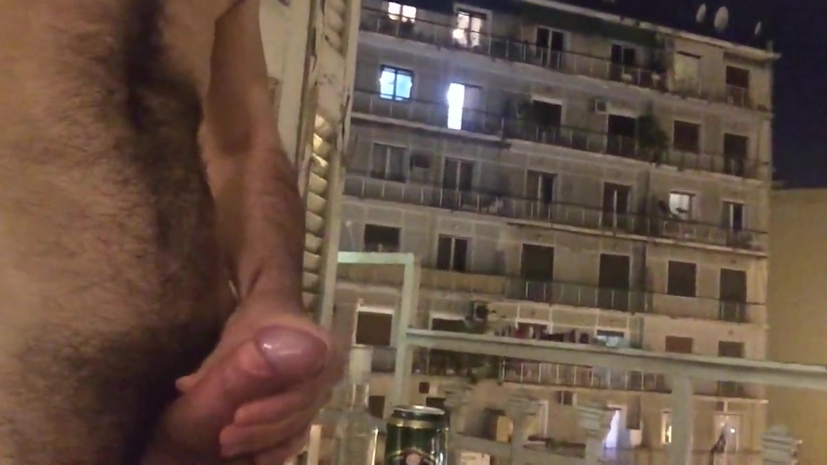 Hotel Balcony Jerking Athens Greece Son fuck his mom in