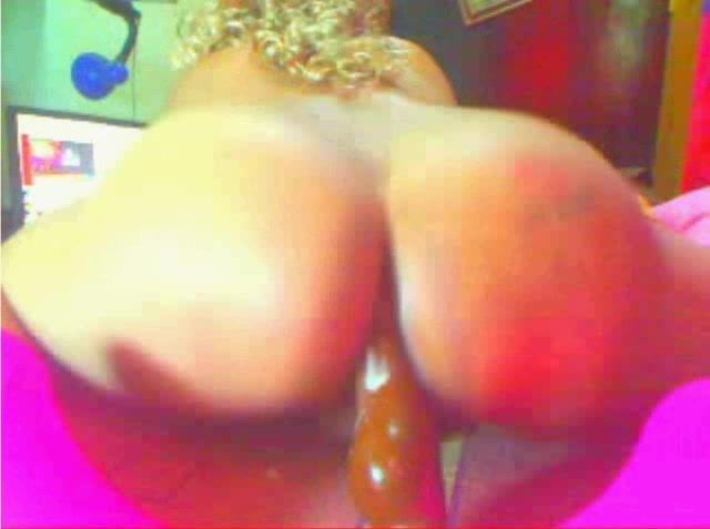 Nice ass on webcam